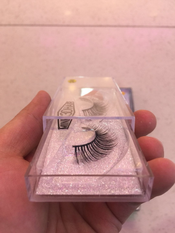 Shine Beauty Hair Brand High Quality NO.7 3D Mink Fake Eye Lashes 10 Pairs Free Shipping