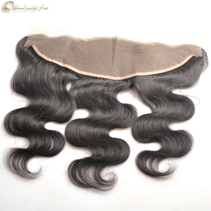 Shine Beauty Hair Factory Direct Wholesale Virgin Human Hair Lace Frontal Body Wave 13x4 Lace Frontal Human Hair Front Free Fast Shipping By Fedex