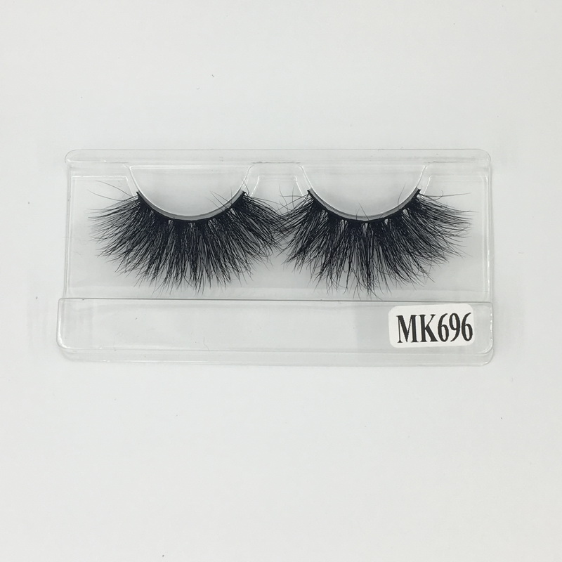 Shine Beauty Hair High Quality Hot Sale 25mm False Eyelashes Extension Lashes Mink 3D No.696 Fast Express Free Shipping