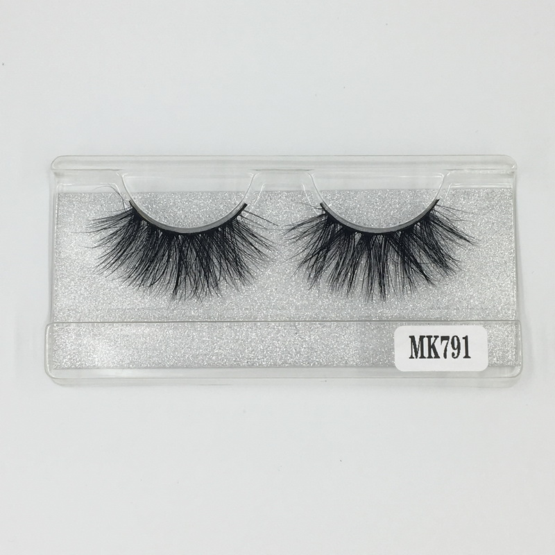 Fast Free Shipping Shine Beauty Hair Brand Mink Eyelashes Extension 25mm Eyelashes 3D No.791 Factory Wholesale