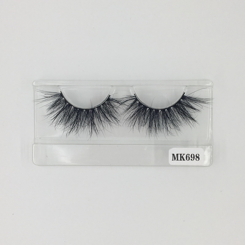 High Quality Standard Free Shipping 25 MM 3D Mink Extension Eyelashes Wholesale No.698 Shine Beauty Hair Factory Direct Wholesale