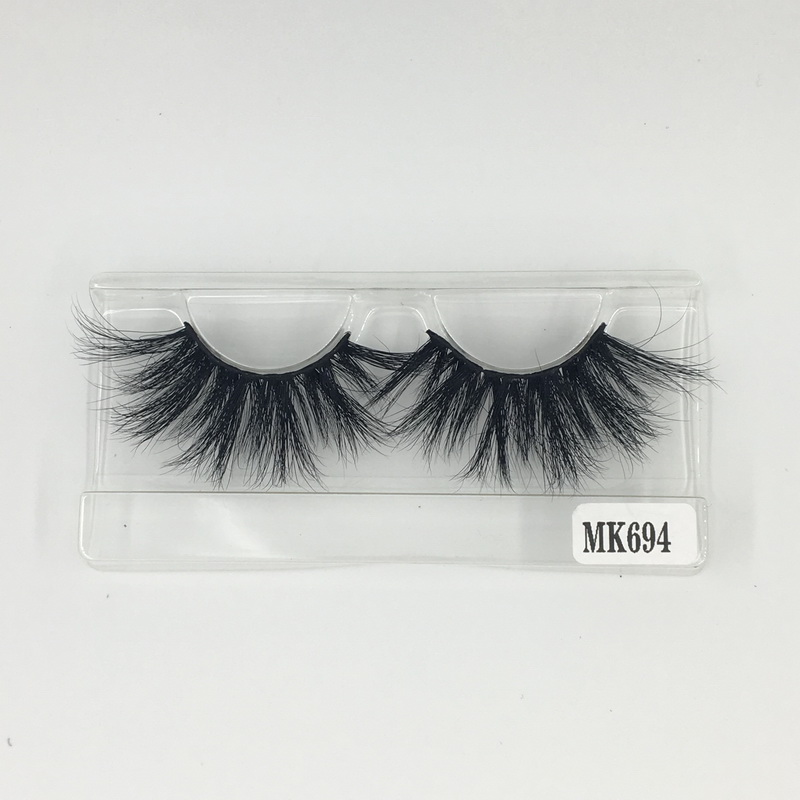 HOT!! Shine Beauty Hair Brand Long Lasting Mink Extension 25 mm Lashes 3D No.694 Factory Direct Wholesale Price