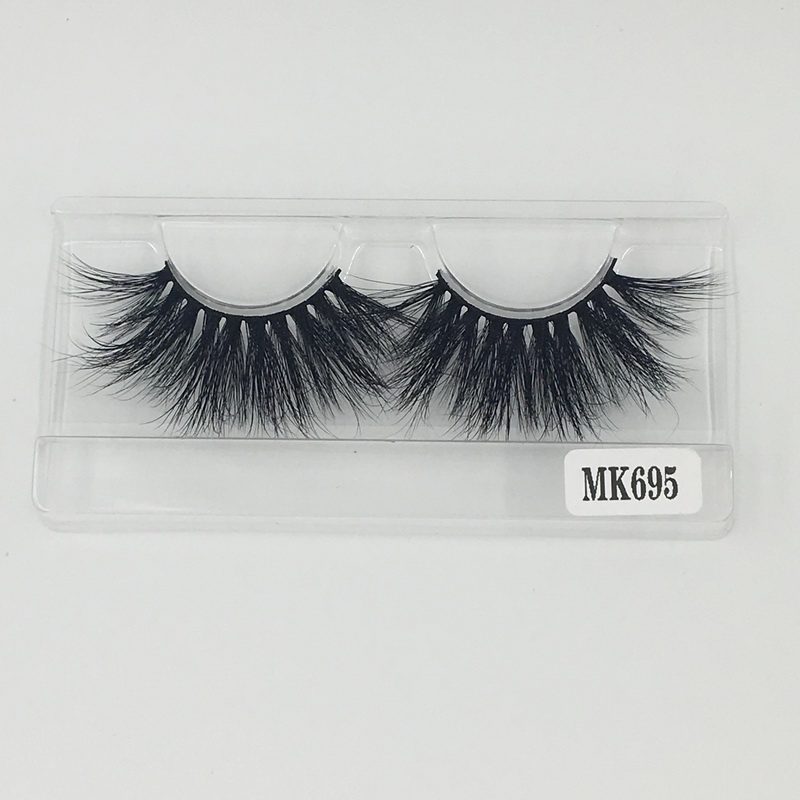 Shine Beauty Hair Company Hot Sale 25 mm Mink Eyelashes Extension No.695 Competetive Wholesale Price