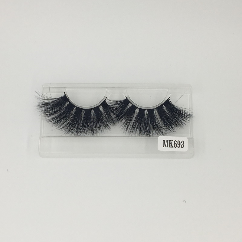 Fast Free Shipping Affordable Price Long Lasting Individual Mink Lashes 3D No.693 Shine beauty Hair Factory Direct Sale